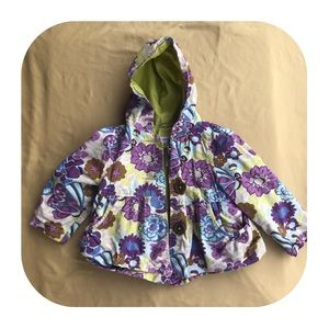 Oshkosh Light Hooded Jacket Girls 2T